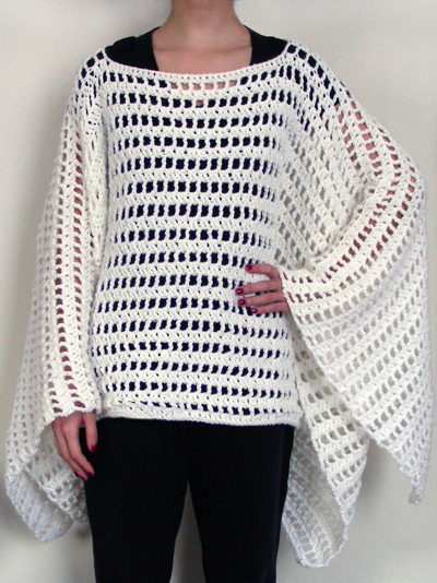 Crocheting Ponchos : EASY PONCHO CROCHET PATTERNS - Crochet - Learn How to Crochet
