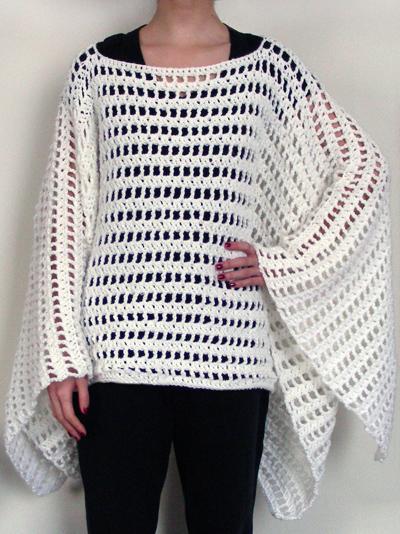 Free Poncho Pattern To Crochet : Crochet Spot Blog Archive Crochet Pattern: Striped ...
