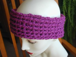 Free Crochet Chevron Ear Warmer Pattern : Crochet Spot Blog Archive Crochet Pattern: Ridge Ear ...