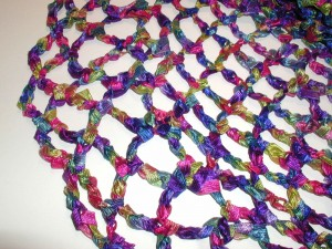 Crochet Stitches Net : ... Crochet: Chain Loop Mesh Stitch - Crochet Patterns, Tutorials and News