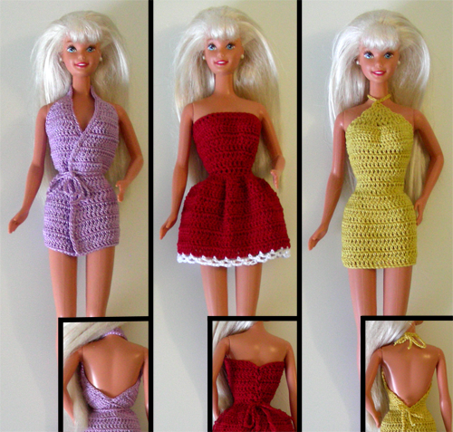 Crochet Barbie Clothes Patterns Crochet Patterns