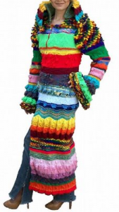 "An example of a ""Coat of Many Colours"""