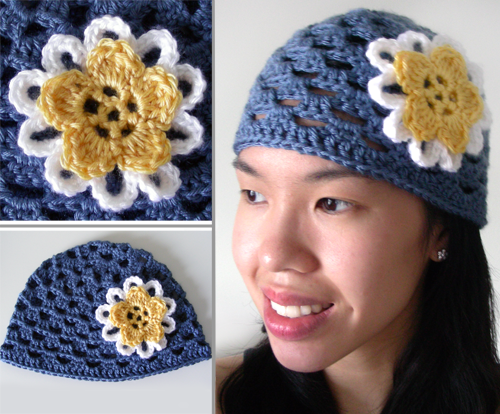 Crochet Layered Flowers The Flower is Crocheted in One