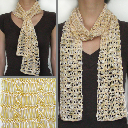 LACE CROCHET SCARF PATTERNS ? Easy Crochet Patterns