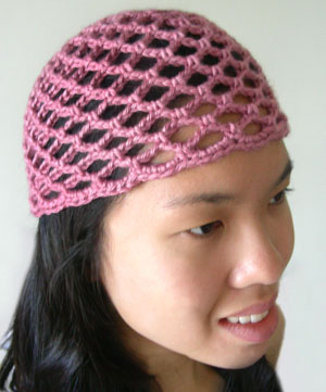 Crochet Spot » Blog Archive » Crochet Pattern  Mesh Lace Beanie – 5 ... 74c7adcd435