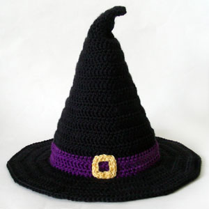 Crochet Pattern For Baby Witch Hat : Crochet Spot Blog Archive Crochet Pattern: Witch Hat ...
