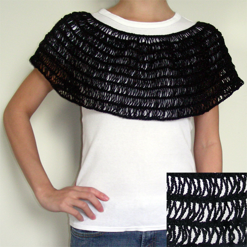 Instructions for a Crocheted Capelet | eHow.com