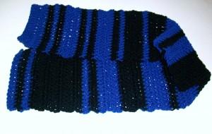 Crochet Morse Code Scarf