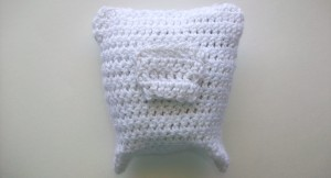 Crochet Tooth Fairy Pillow