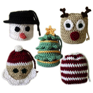 Crochet Spot » Blog Archive » Crochet Pattern: 5 Christmas Gift Bags ...