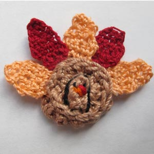 Gobble Coaster Free Crochet Pattern : PATTERN FOR CROCHETED TURKEY ? Free Crochet Patterns