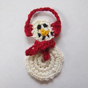 Crochet Christmas Tree Applique Pattern