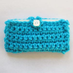 Crochet spot blog archive crochet pattern business card holder skill level reheart Choice Image