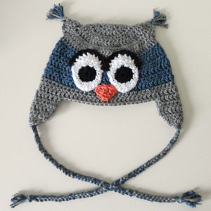 Crochet Spot Blog Archive Crochet Pattern: Owl Hat (5 ...