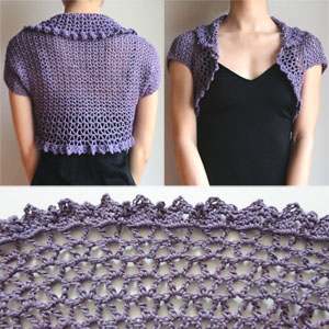 Crochet Spot Blog Archive Crochet Pattern V Lace Shrug