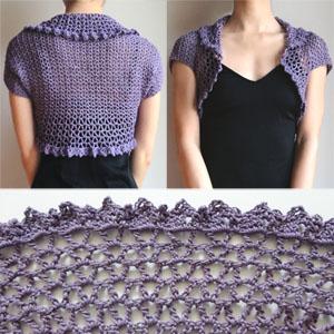 Maui Shrug - Media - Crochet Me
