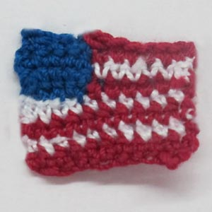 CROCHET THE AMERICAN FLAG ? Only New Crochet Patterns