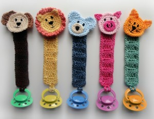 Crochet Spot Blog Archive Crochet Pattern Pacifier Holder With