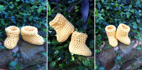Crochet Pattern Baby Rain Boots : Crochet Spot Blog Archive Crochet Pattern: Baby Rain ...