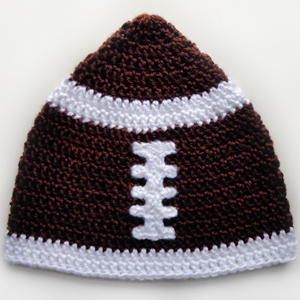 Crochet Pattern Baby Hat Free : BABY FOOTBALL HELMET PATTERN Free Baby Patterns