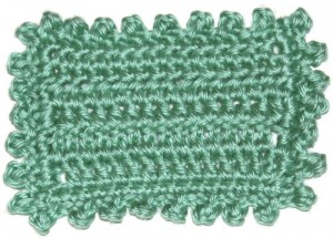 Picot finished edge