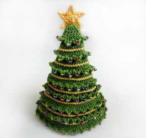 crochet christmas tree hat pattern free
