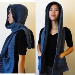 Crochet spot blog archive crochet pattern hooded scarf version similar posts crochet pattern cozy hooded scarf dt1010fo