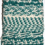 Inside (backside) of Fair Isle Crochet