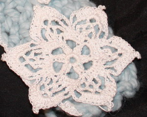 Crochet Spot Blog Archive Combining Thick Yarn And Thin Thread