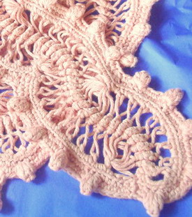 Knitting Hairpin Lace Pattern : Crochet Spot   Blog Archive   Crochet Technique: Hairpin Lace   Part 1 - Croc...