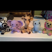 crochet safari animals