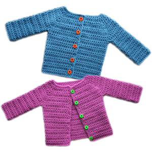 Crochet Pattern Central Baby Cardigans : TODDLER GIRLS SWEATER PATTERN - Popular Crocheting Patterns