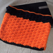 crochet netbook sleeve