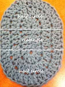 Crochet Patterns Oval Shape : How to double-crochet an oval Crochet Pinterest