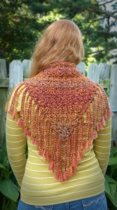 Nearly Autumn Shawl