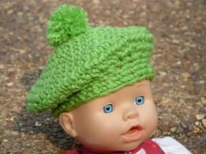 Crochet Spot » Blog Archive » Crochet Pattern  Parisian Doll Beret ... d7e07ea1635