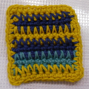 Crocheting In Rows : ... Crochet Over Single Crochets in Rows - Crochet Patterns, Tutorials and
