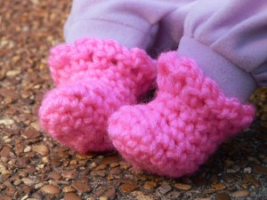 Sweet Baby Doll Booties