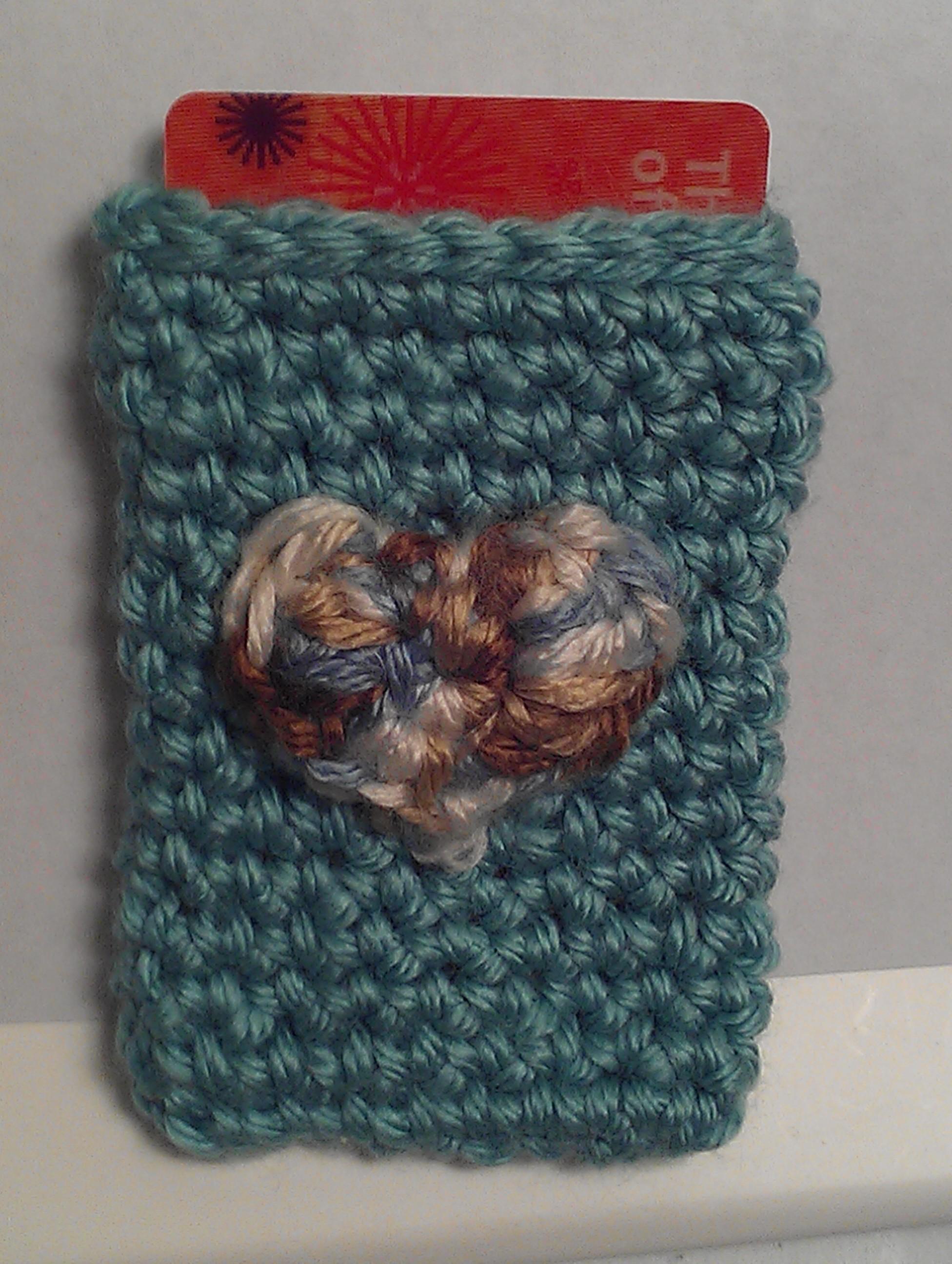 Free Crochet Pattern Gift Card : Crochet Spot Blog Archive Crochet Pattern: Heart Gift ...