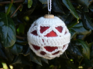 Trellis Christmas Ornament