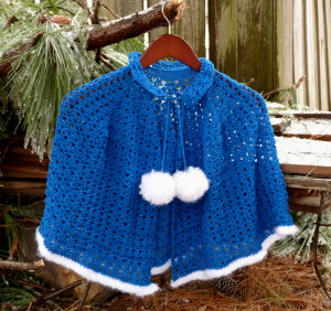 Winter Wonderland Capelet