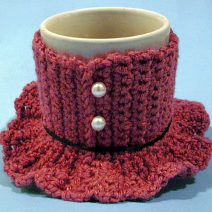 crochet mug dress cozy