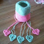 Carolynn is also working in a crochet group.