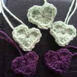 Loving the colors of Brenda's hearts.