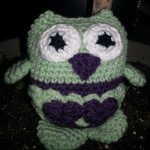 Brenda's lovable owl is looking great.