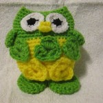 Lillie's owl looks great in green and yellow.