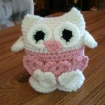 Nelle's owl from Happy Hookers Crochet Club.
