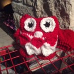Take a look at Esther's red and white owl.