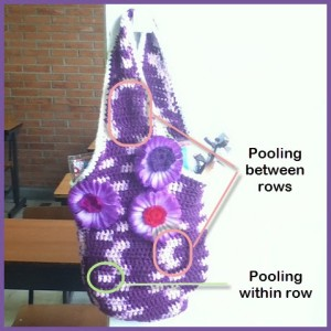 Queen Bag crocheted by Caissa McClinton