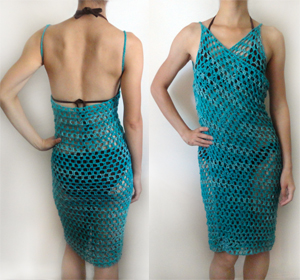 Crochet Spot Blog Archive Crochet Pattern Swimsuit Coverup 9